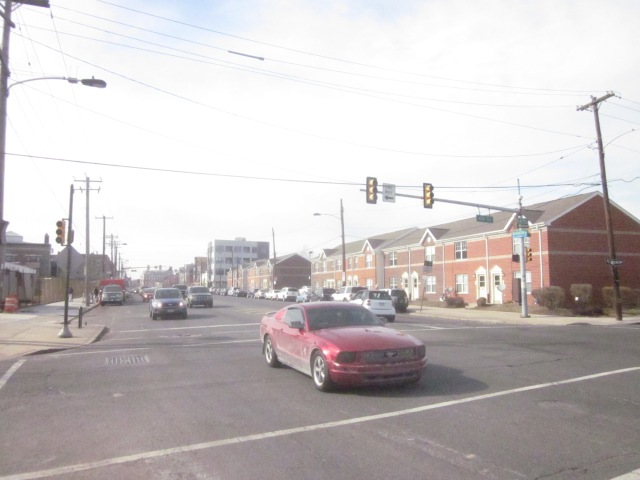 Washington Avenue, north of the former Mt. Sinai Hospital