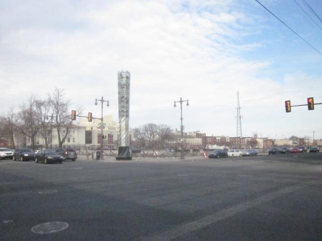 This huge lot at Broad Street and Washington Avenue may have a large shopping complex someday soon