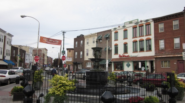 Passyunk Avenue, west of the former Mt. Sinai Hospital