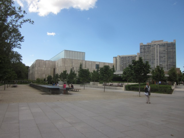The Barnes Foundation museum, at 20th Street and the Parkway, near the future CITC