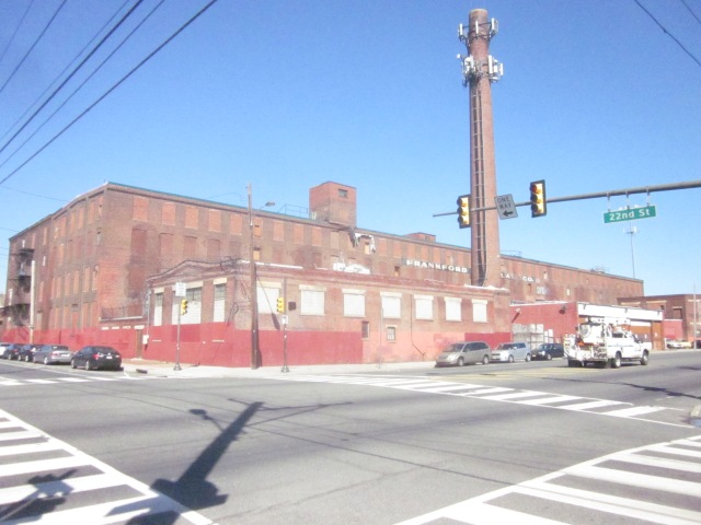 The former Frankford Chocolate Factory, at 22nd Street and Washington Avenue, may be converted into apartments soon