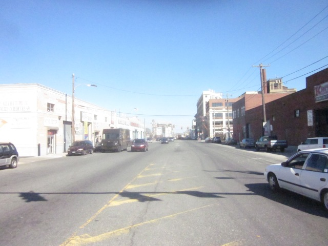 Looking east down Washington Avenue, from 16th Street