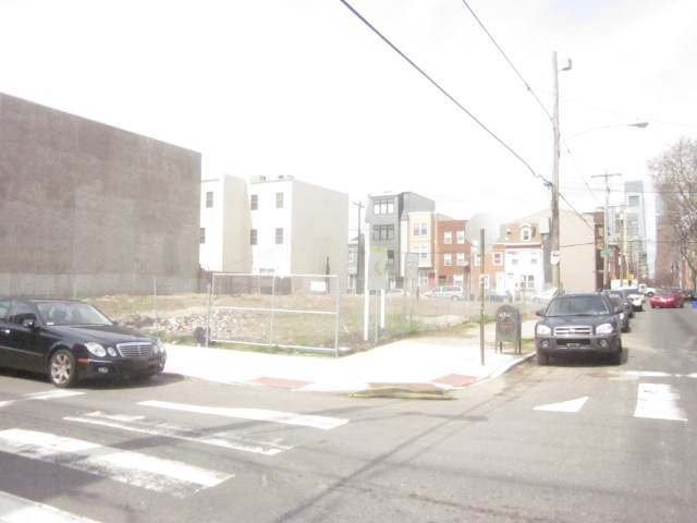 This lot, on the northwest corner of 17th and Carpenter Streets, is the future site of Carpenter Green
