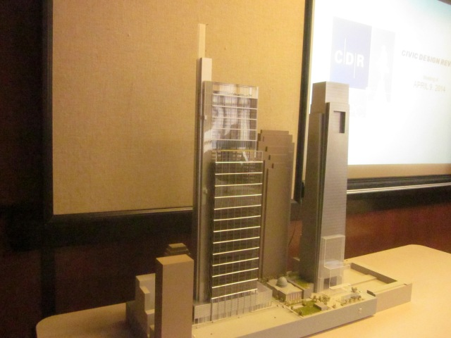 Another view of the model of the CITC from the southwest angle