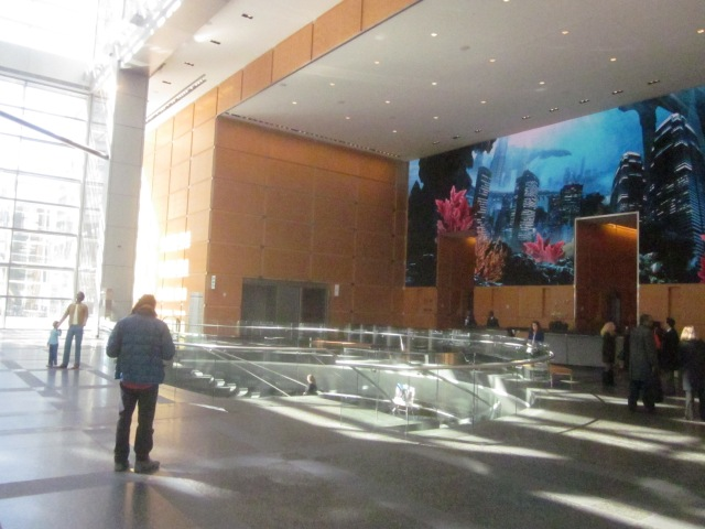 Lobby of the Comcast Center