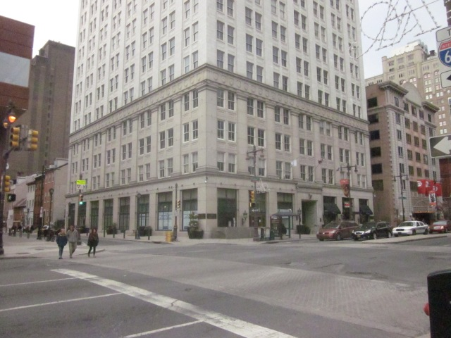 The lower floors of the Atlantic Building are supposed to have a large store or two