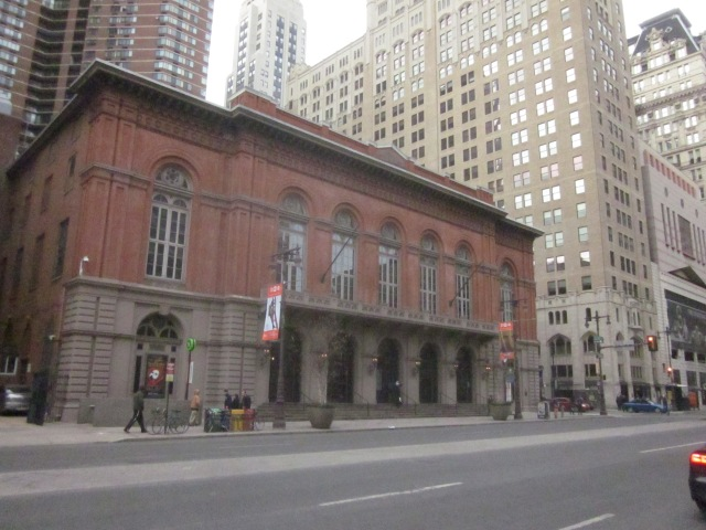 Historic Academy of Music at Locust Street, one block away from the SLS project