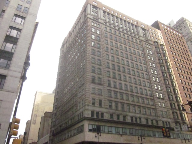 The Avenue of the Arts Building, at Broad and Chestnut Streets, is supposed to be renovated into luxury apartments soon