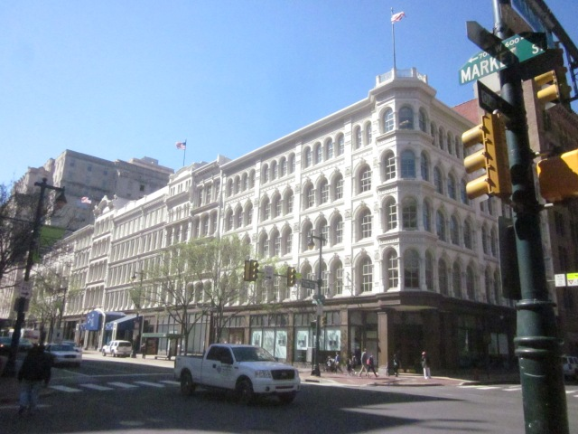The Mellon Independence Center, former Lits Brothers Department Store, at 7th and Market Streets