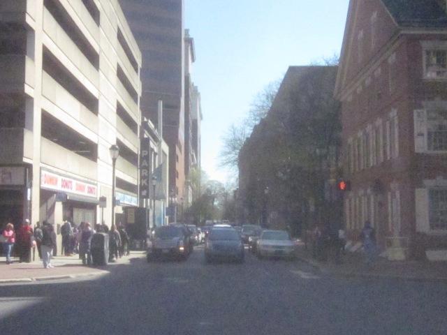 Looking south down 7th Street towards Washington Square Park