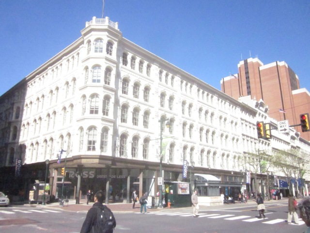 Mellon Independence Center, former Lits Brothers Department Store, at 8th and Market Streets