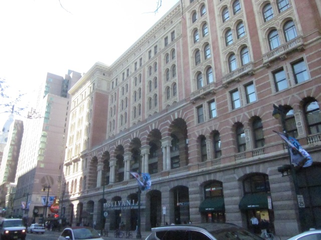 Reading Terminal Building, at 12th and Market Streets