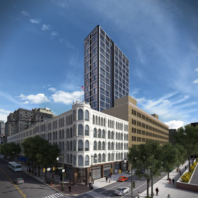 Rendering of Future Mellon Independence Center Tower