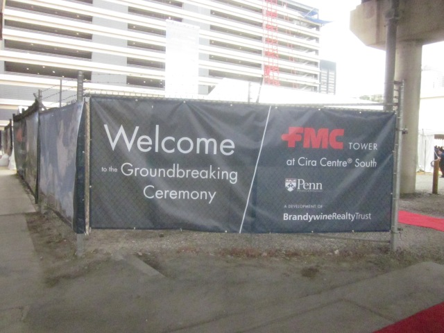 Groundbreaking ceremony announcement from May 14