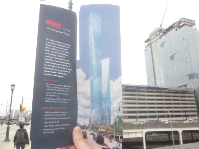 Rendering of the future FMC Tower from the brochure