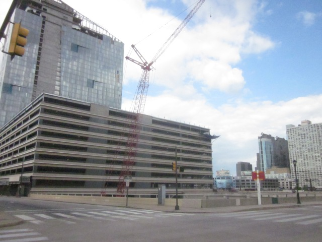 Site of future FMC Tower, at 30th and Walnut Streets