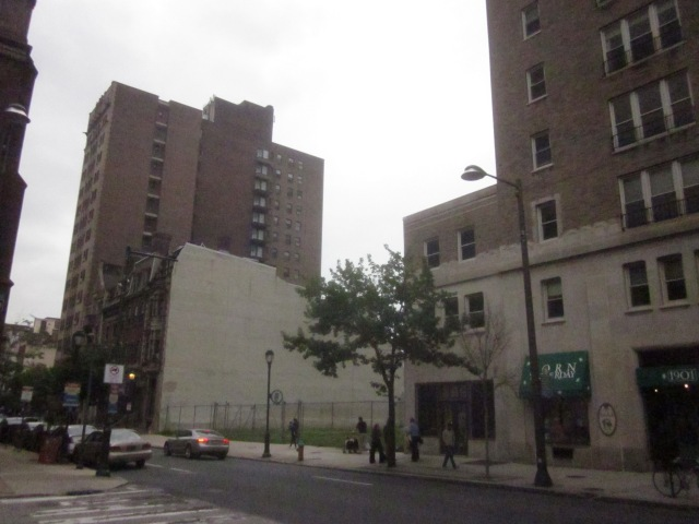 Vacant site at 1911 Walnut Street could be developed soon