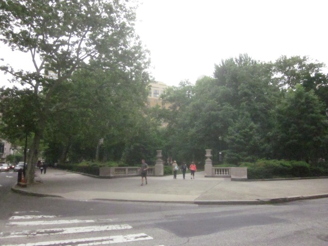 Rittenhouse Square Park is a half mile from new FMC Tower on Walnut Street