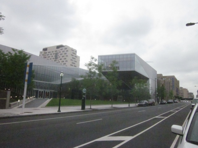 New Singh Nanotechnology Center, on Walnut Street, near future FMC Tower